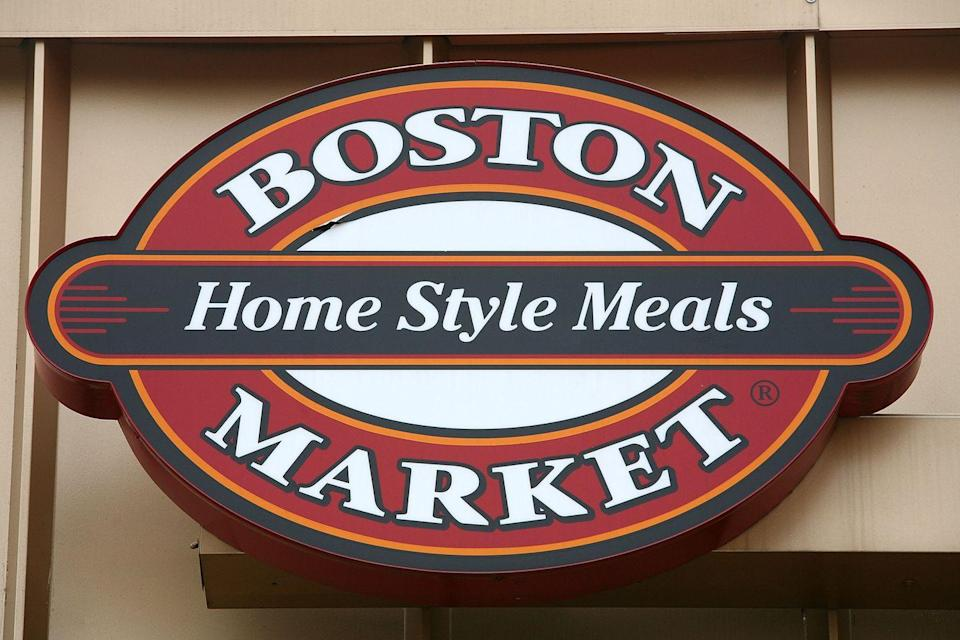 "<p><a href=""https://www.bostonmarket.com/"" rel=""nofollow noopener"" target=""_blank"" data-ylk=""slk:Boston Market"" class=""link rapid-noclick-resp"">Boston Market</a> restaurants will be open if you want help with the Thanksgiving meal instead of a burger-and-fries option. You can pick up some sides, a pie, or the complete ready-to-heat meal. </p>"