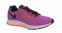 """<p>Seasoned runners likely have a favorite style of sneakers, but newbies may not even know where to start. This entry-level pair from Nike is nice and comfy, with responsive cushioning and extreme flexibility. <br></p><p>$109.99 at <a href=""""http://www.six02.com/product/model:242396/sku:06577500/nike-air-zoom-pegasus-32-womens/purple/grey/?cm=#sku=49344500"""" rel=""""nofollow noopener"""" target=""""_blank"""" data-ylk=""""slk:SIX:02"""" class=""""link rapid-noclick-resp"""">SIX:02</a></p>"""