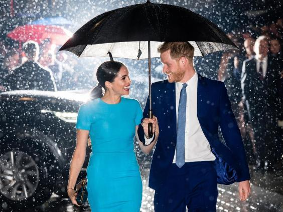 The duke and duchess made their first joint public appearance since announcing they were stepping back at the Endeavour Fund Awards (WireImage)