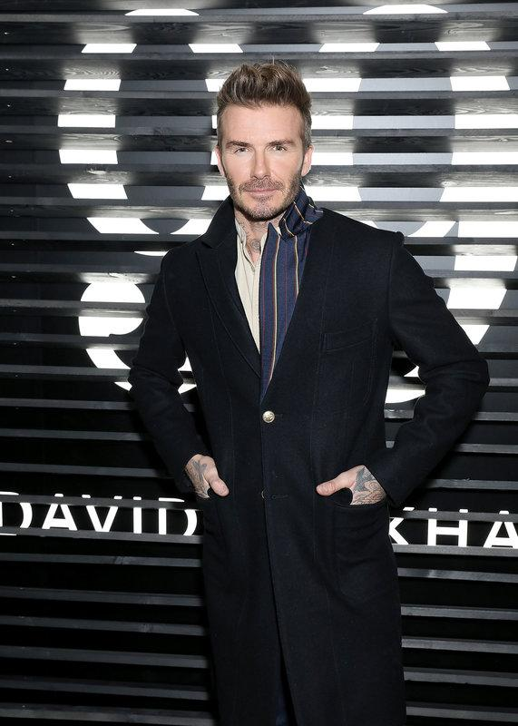 Representing at the launch of his grooming line HOUSE 99in February 2018.