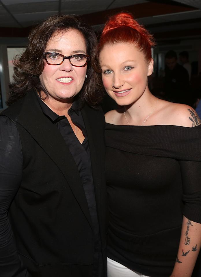 """<p>The comedian adopted Chelsea as a baby, but the teen years were rough — on both of them — and the kid was ready to fly the coop by 18. But it was a messy parting — Rosie filed a <a rel=""""nofollow"""" href=""""https://www.yahoo.com/news/rosie-o-donnell-s-teen-daughter-chelsea-goes-missing-170318960.html"""">missing person report</a>, and Chelsea was found in the company of an older man she had met on Tinder who had a drug rap sheet. (More specifically, she was hiding in the guy's mother's attic when authorities came knocking.) Despite <a rel=""""nofollow"""" href=""""https://www.yahoo.com/entertainment/rosie-o-donnell-and-estranged-1455646345822262.html"""">briefly reconciling</a> with Rosie, it has been a big hot mess ever since. The worst incident was when Chelsea, who secretly got married then announced a pregnancy in 2017, was <a rel=""""nofollow"""" href=""""https://www.yahoo.com/lifestyle/rosie-odonnell-accuses-pregnant-daughter-chelsea-profiting-off-ex-michelle-rounds-death-152301719.html"""">paid by a tabloid to dish on Rosie's brief marriage to Michelle Rounds</a> after Rounds apparently committed suicide. Not pretty in any way, shape or form. (Photo: Getty Images) </p>"""