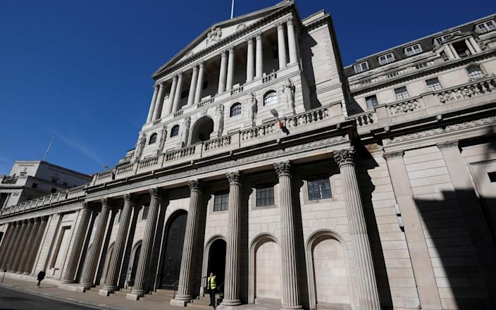 The Bank of England vowed to block any images of its notorious former leaders from being displayed there - Toby Melville/Reuters