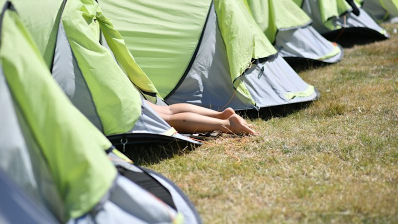 Surge in campsite bookings as holidaymakers opt for staycations
