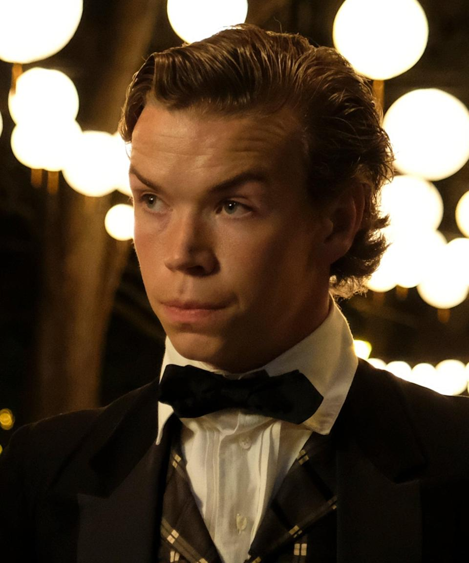 """<h2>Will Poulter plays Sam<br></h2><br>Sam is a station agent for the Underground Railroad and helps Cora and Caesar begin their new lives in South Carolina after their escape from Georgia. He is also involved with the local efforts to include free Black men and women into <a href=""""https://www.refinery29.com/en-us/ghana-year-of-return-slavery"""" rel=""""nofollow noopener"""" target=""""_blank"""" data-ylk=""""slk:post-slavery society"""" class=""""link rapid-noclick-resp"""">post-slavery society</a>.<br><br>Poulter earned praise during his career for his roles in the comedy <em>We Are The Millers</em>, <em>The Maze Runner</em> and <em>Maze Runner: The Death Cure</em>, Netflix's <em>Black Mirror: Bandersnatch</em> and <em><a href=""""https://www.refinery29.com/en-us/2019/05/232696/midsommar-trailer-ari-aster-breakup-movie"""" rel=""""nofollow noopener"""" target=""""_blank"""" data-ylk=""""slk:Midsommar"""" class=""""link rapid-noclick-resp"""">Midsommar</a>.</em><span class=""""copyright"""">Photo: Courtesy of Amazon Studios.</span>"""