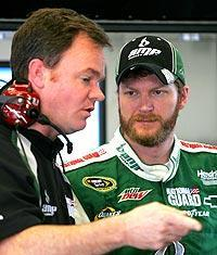 Dale Earnhardt Jr. says crew chief Lance McGrew challenges him to pay more attention to detail