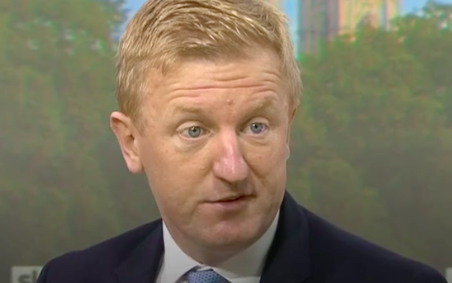 Culture secretary Oliver Dowden says the new three-tier lockdown system could remain in place until into 2021. (Sky News)