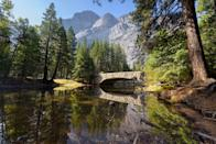 <p>Nearly every one of America's National Parks could be a runner's dream (the Gateway Arch excluded), but the northern California park is especially breathtaking. Combining forests, mountains, rivers, and valleys, Yosemite is a trail runner's fantasy, and lends itself to endless running rambles.</p>