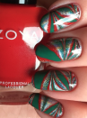 "<p>This marbled Christmas nail art by <a href=""https://www.instagram.com/rocketfuelnails/"" rel=""nofollow noopener"" target=""_blank"" data-ylk=""slk:Rocket Fuel Nails"" class=""link rapid-noclick-resp"">Rocket Fuel Nails</a> uses classic red, green, and holographic silver to create this fun patterned look you can experiment with at home.</p><p><a class=""link rapid-noclick-resp"" href=""https://go.redirectingat.com?id=74968X1596630&url=https%3A%2F%2Fwww.walmart.com%2Fip%2F15pcs-Nail-Brush-Kit-Nail-Art-Tips-UV-Gel-Nail-Builder-Brush-for-Nail-Art-Design-Painting-Pen-Set-Nail-Tool%2F417366047&sref=https%3A%2F%2Fwww.oprahmag.com%2Fbeauty%2Fg34113691%2Fchristmas-nail-ideas%2F"" rel=""nofollow noopener"" target=""_blank"" data-ylk=""slk:SHOP NAIL BRUSH"">SHOP NAIL BRUSH</a></p>"