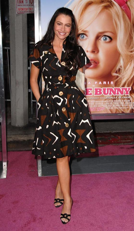 "<a href=""http://movies.yahoo.com/movie/contributor/1804514019"">Sofia Vergara</a> at the Los Angeles Premiere of <a href=""http://movies.yahoo.com/movie/1809921361/info"">The House Bunny</a> - 08/20/2008"
