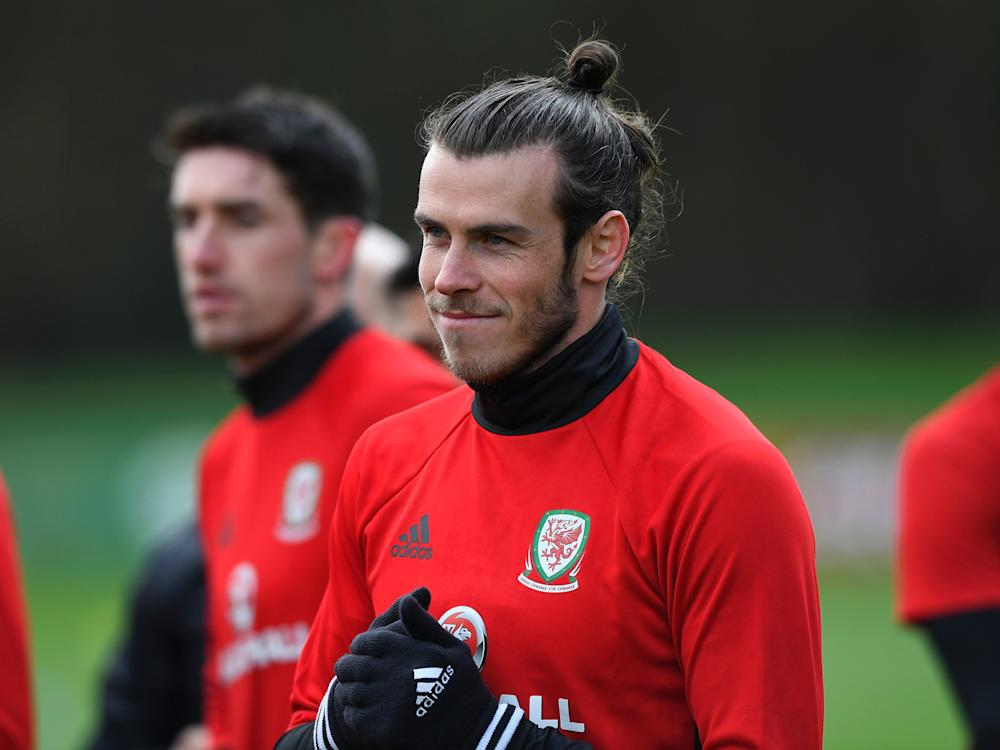 Gareth Bale has taken part in training with Wales this week: Getty