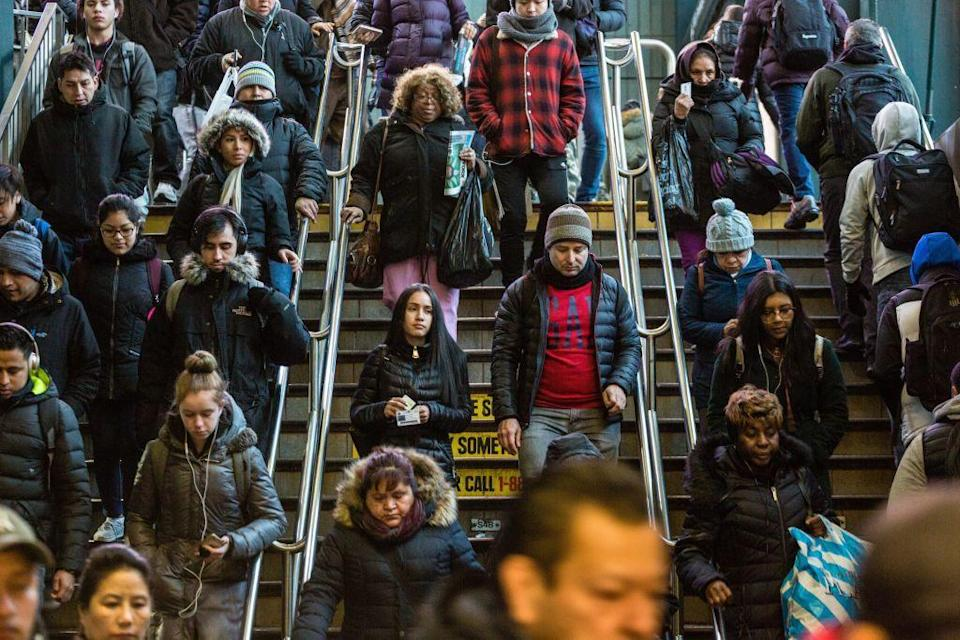 <p>No racial or ethnic group holds a majority 50 percent in the borough. </p>