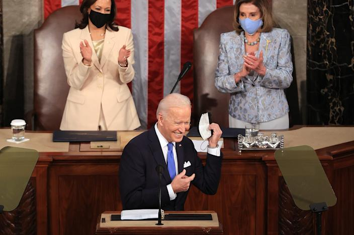 Biden should have addressed anti-democratic and fantasy Trumpism in his speech to Congress