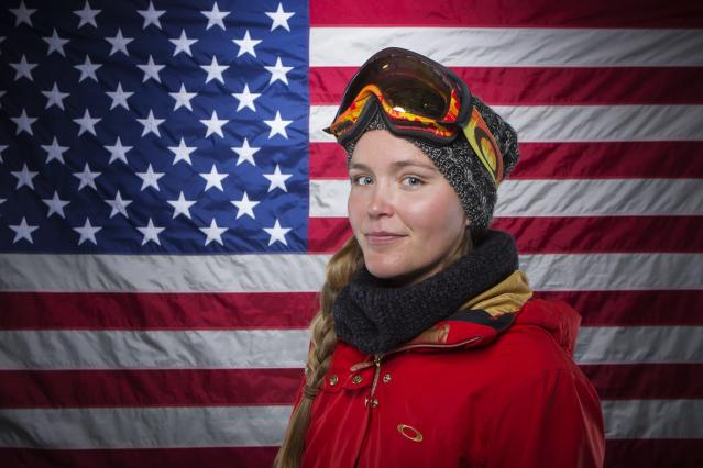 Olympic slopestyle freestyle skier Grete Eliassen poses for a portrait during the 2013 U.S. Olympic Team Media Summit in Park City, Utah October 1, 2013. REUTERS/Lucas Jackson (UNITED STATES - Tags: SPORT OLYMPICS PORTRAIT SKIING HEADSHOT)