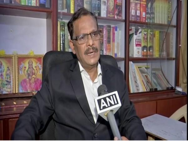 Macharla Rangaiah, Senior Counsel, Telangana High Court (Photo/ANI)