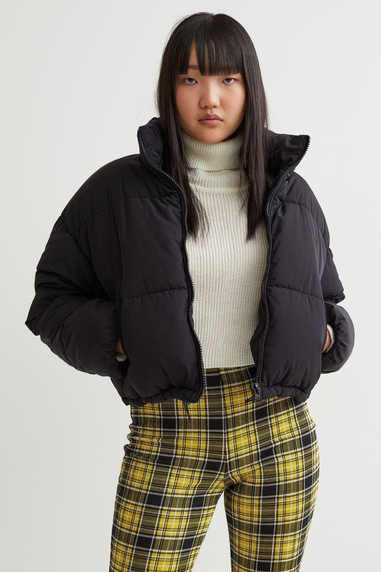 <p>This <span>H&amp;M Short Puffer Jacket</span> ($50) is the perfect fall coat. Temperatures are dipping and the wind is coming out, but it's not frigid. In other words, it's time for a cropped jacket.</p>