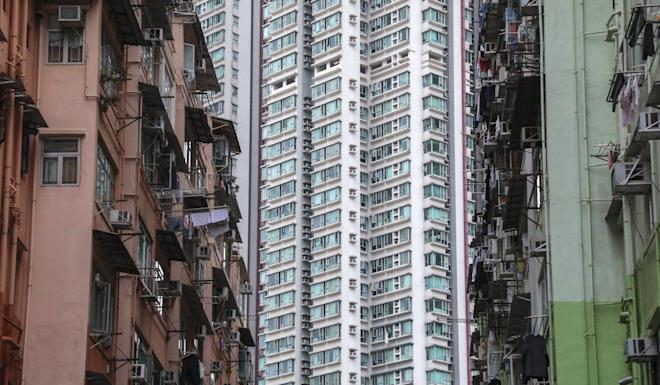 Some of the low-income households surveyed lived in Tai Kok Tsui. Photo: Felix Wong