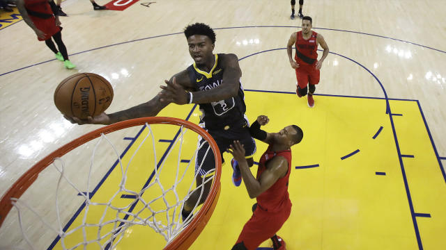 Despite the hiccups in his second NBA season, Jordan Bell's Warriors teammates see growth.