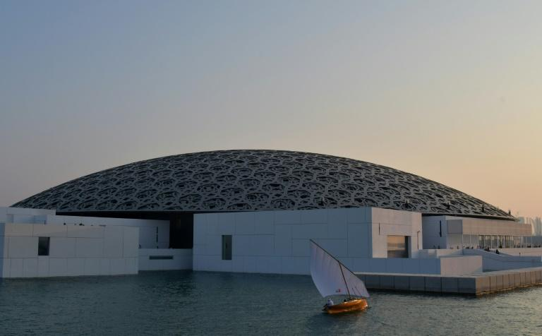 The Louvre Abu Dhabi was designed by French architect Jean Nouvel and is the first of three museums to open on the emirate's Saadiyat Island