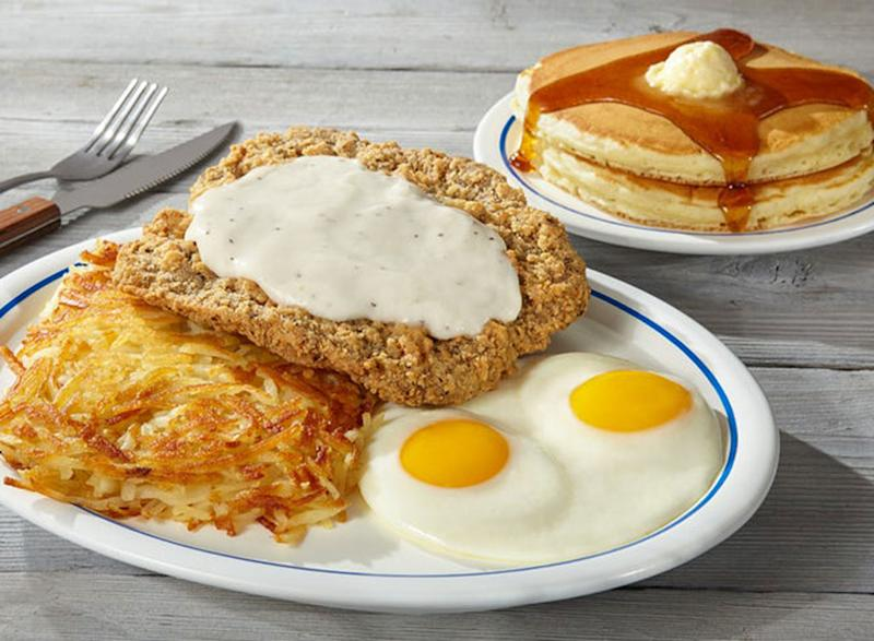 ihop country fried steak eggs