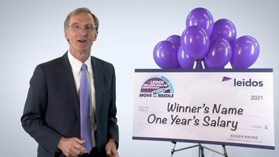 Leidos chairman and CEO Roger Krone announces 'Move the Needle' sweepstakes