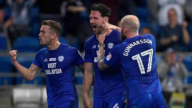 Sean Morrison and Aron Gunnarsson were on target as Cardiff City banked three precious points in their bid to reach the Premier League.