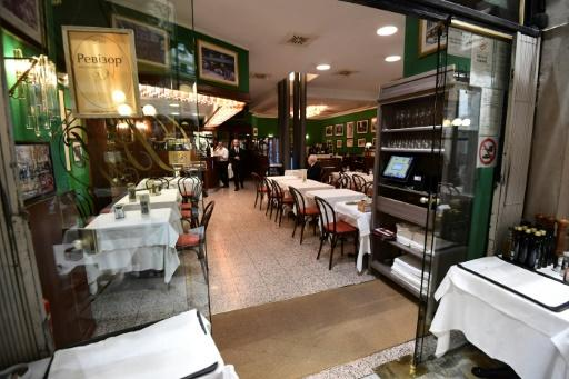Tables at fashionable Milanese restaurants are usually hard to come by