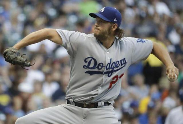 Dodgers starting pitcher Clayton Kershaw reached an impressive milestone Friday night, recording his 2,000th career strikeout. (AP)