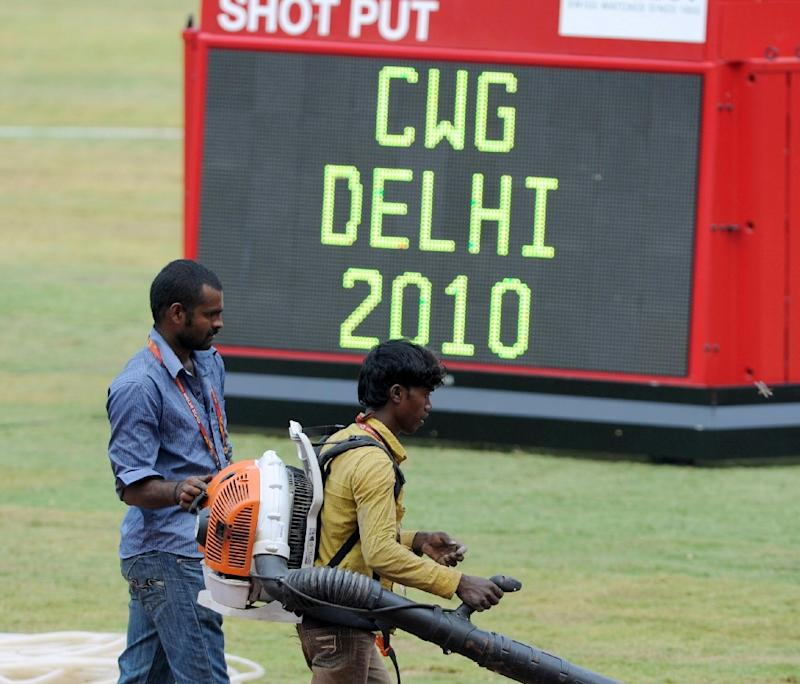 The 2010 Commonwealth Games in New Delhi were plagued by delays and corruption
