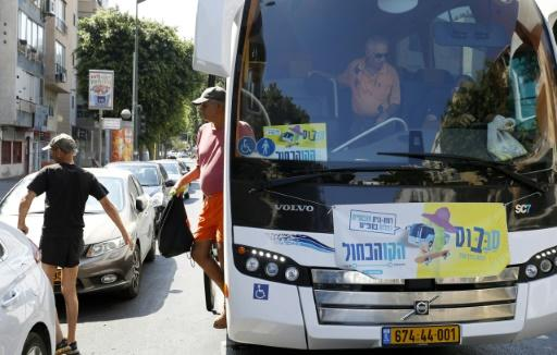 The Satuday buses in Israel are a blessing for some but a curse for others