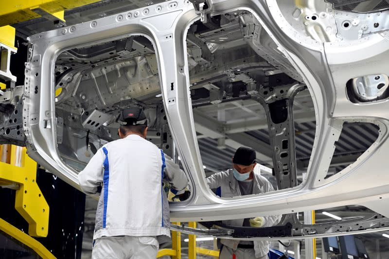 Auto industry set to put brakes on central Europe's COVID-19 recovery