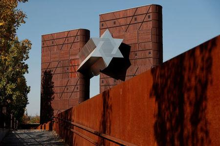 The new Holocaust museum called the House of Fates is pictured in Budapest