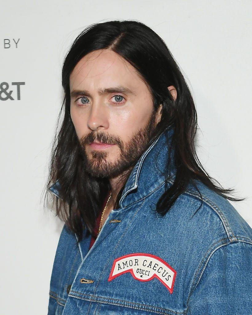 <p>Leto's beard seemed to grow only with his acting success. </p>