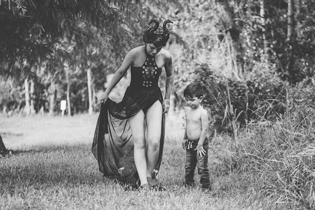 Di Roma told HuffPost that her son has autism and has found comfort in breastfeeding. (Di Roma Photography)