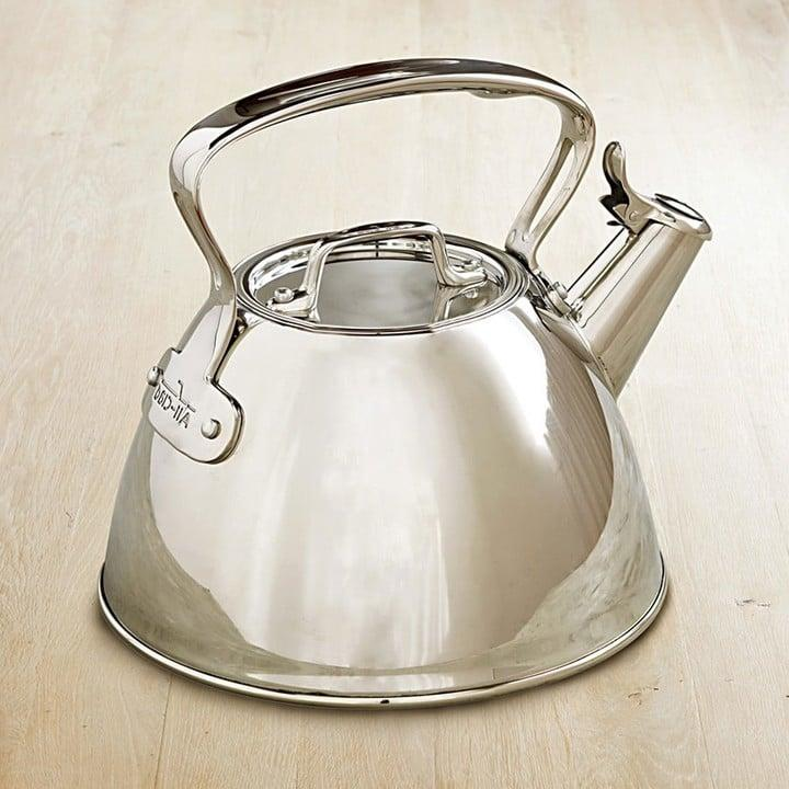 "<p><a href=""https://www.popsugar.com/buy/All-Clad-Stainless-Steel-Tea-Kettle-148925?p_name=All-Clad%20Stainless-Steel%20Tea%20Kettle&retailer=williams-sonoma.com&pid=148925&price=150&evar1=yum%3Aus&evar9=40927508&evar98=https%3A%2F%2Fwww.popsugar.com%2Fphoto-gallery%2F40927508%2Fimage%2F40927518%2FAll-Clad-Stainless-Steel-Tea-Kettle&list1=all-clad&prop13=api&pdata=1"" rel=""nofollow"" data-shoppable-link=""1"" target=""_blank"" rel=""nofollow"" class=""ga-track"" data-ga-category=""Related"" data-ga-label=""http://www.williams-sonoma.com/products/all-clad-stainless-steel-teakettle/?pkey=cteakettles-stovetop&amp;&amp;cteakettles-stovetop"" data-ga-action=""In-Line Links"">All-Clad Stainless-Steel Tea Kettle</a> ($150)</p>"