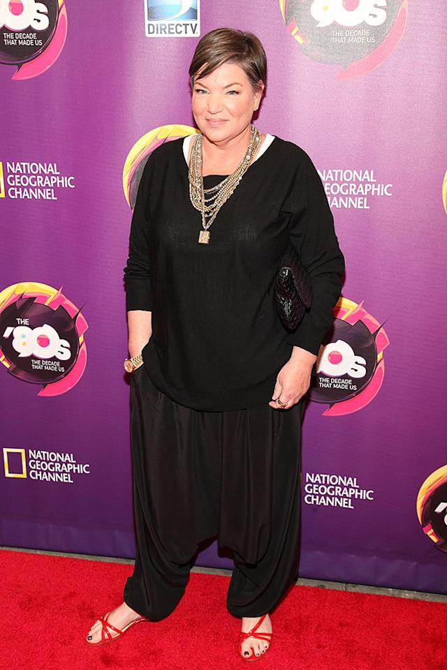 "Mindy Cohn attends Nat Geo's ""The '80s: The Decade That Made Us"" New York Premiere at Culture Club on April 9, 2013 in New York City."