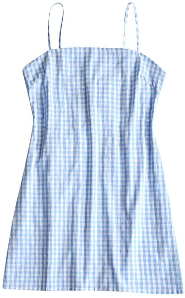 <p>Wear this <span>Zaful Mini Dress</span> ($32, originally $50) with strappy sandals for a cute and preppy look.</p>