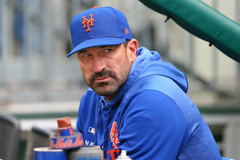 PHILADELPHIA, PA - APRIL 16: Manager Mickey Callaway #36 of the New York Mets before a game against the Philadelphia Phillies at Citizens Bank Park on April 16, 2019 in Philadelphia, Pennsylvania. The Phillies defeated the Mets 14-3. (Photo by Rich Schultz/Getty Images)
