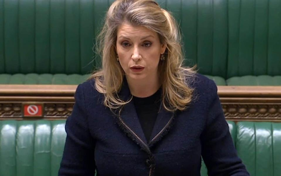 Penny Mordaunt has been moved to the Department of International Trade - PARLIAMENT