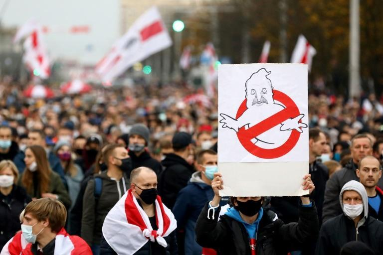 Belarus saw mass protests after the August election with opponents of Alexander Lukashenko calling on him to resign