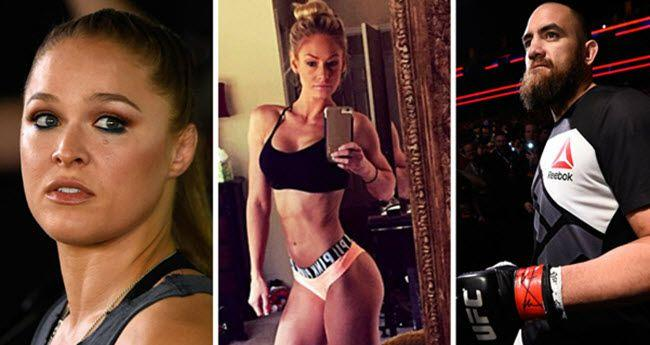Travis Browne's Ex-Wife Trashed Ronda Rousey On Social