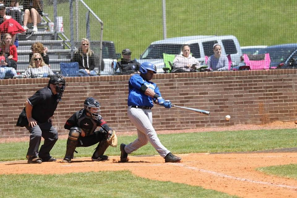 Danville's KJ Stringfield went 2-for-3 at the plate with an RBI against Paul Laurence Dunbar on Saturday.