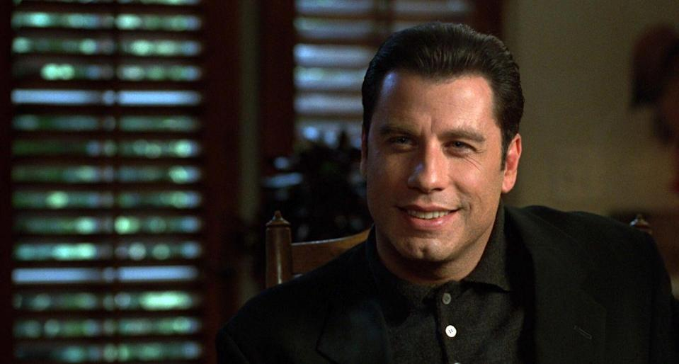 <p>Based on Elmore Leonard's bestselling novel, this black comedy stars John Travolta as a loan shark who travels to Los Angeles to settle a debt from a Hollywood hotshot (played by Gene Hackman). But he quickly learns that Hollywood isn't so much different than the mob, and he quickly pivots into a new profession as a producer.</p>