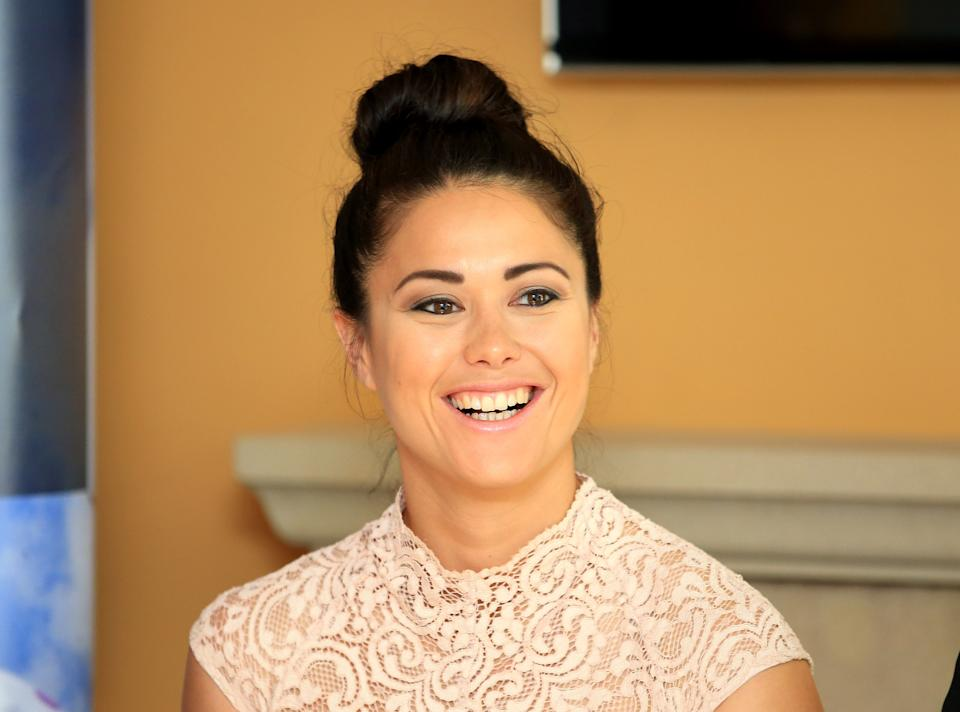 Sam Quek attends the official launch of The Jockey Club Haydock Park Racing Club during 32Red Sprint Cup Day at Haydock Park Racecourse.