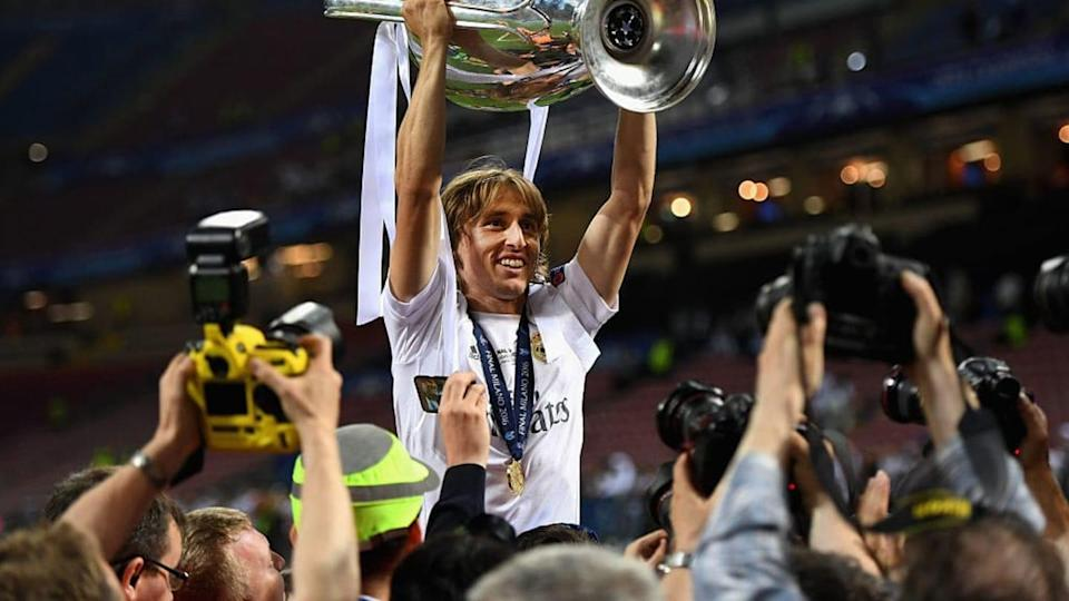Luka Modric campeón de Europa con el Real Madrid   Laurence Griffiths/Getty Images