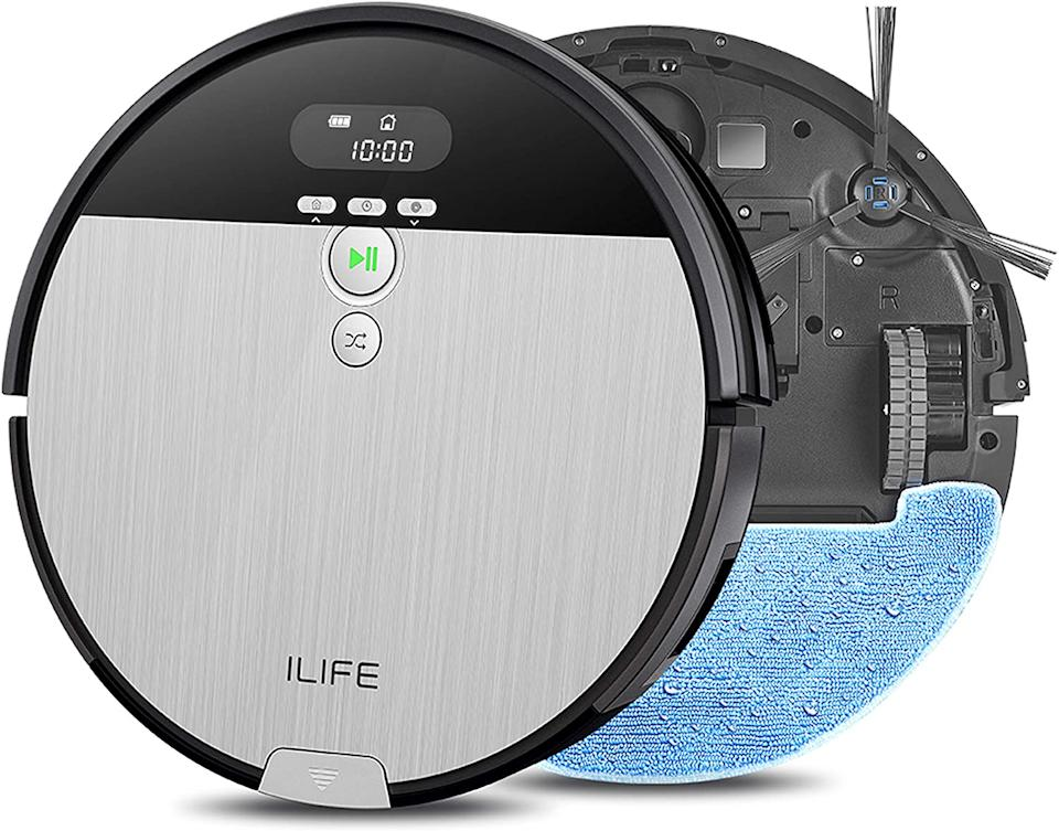 It vacuums AND mops. Meet your new lifesaver. (Photo: Amazon)