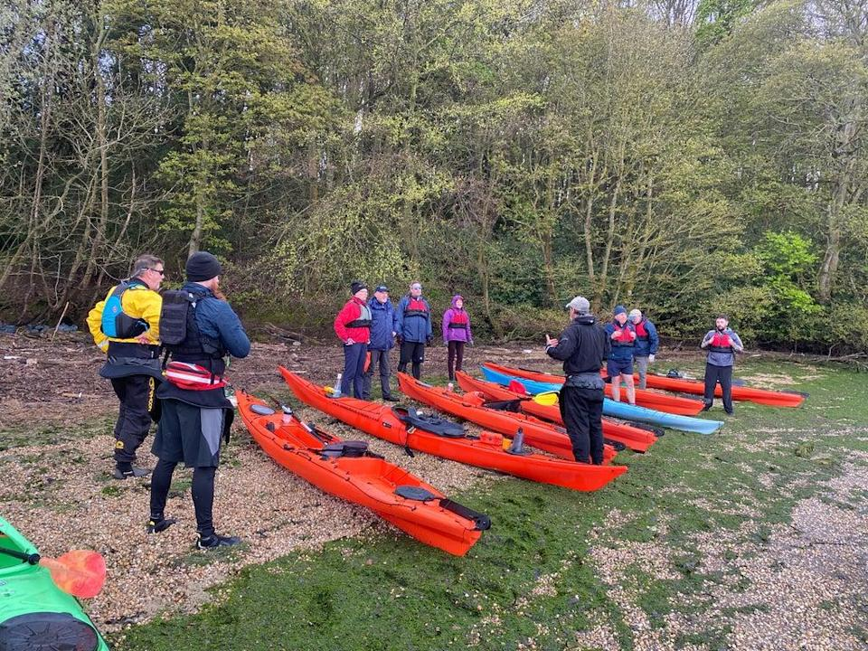 Participants come away with a sense of achievement (NOMAD Sea Kayaking)