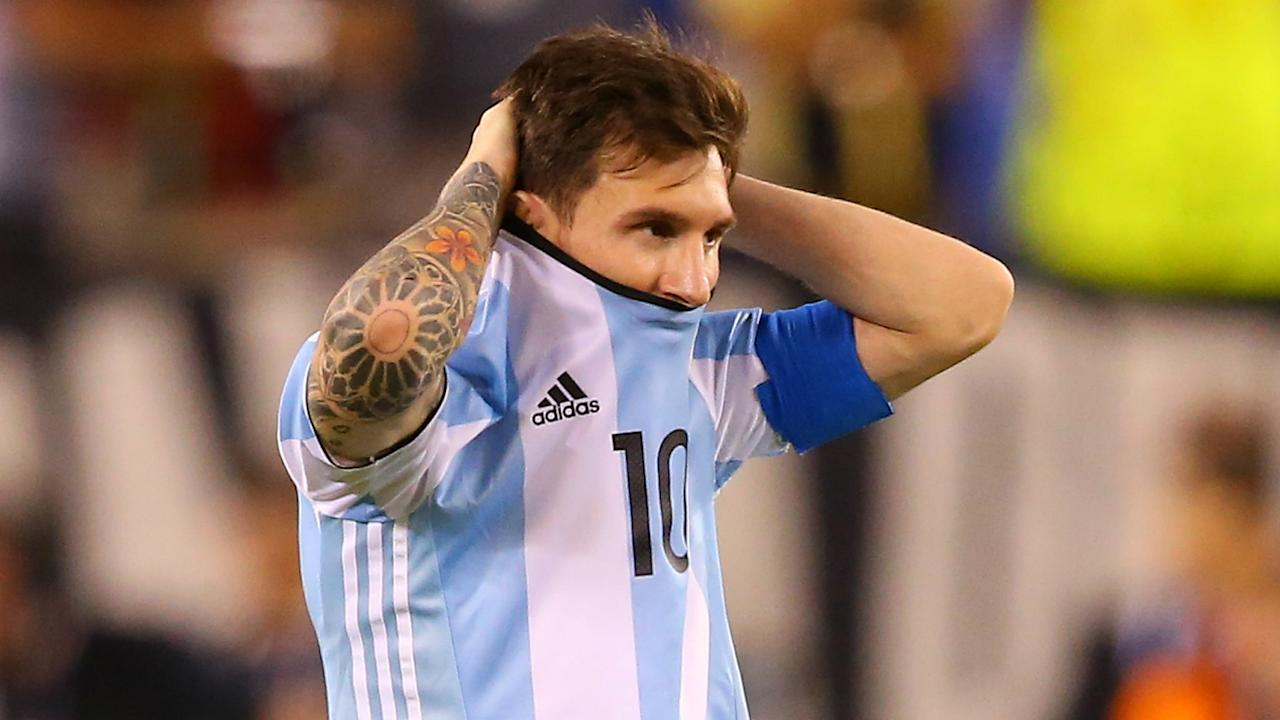 With the Barcelona star suspended, the two-time World Cup winner questions whether Argentina will qualify for the quadrennial tournament
