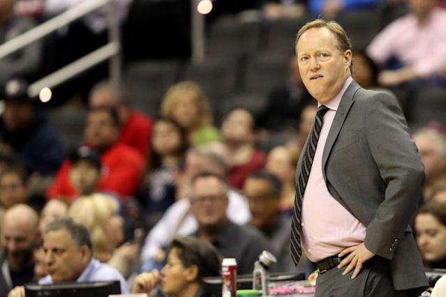Mike Budenholzer is on pace to lead a second team to 60 wins in a span of four years. (Getty Images)