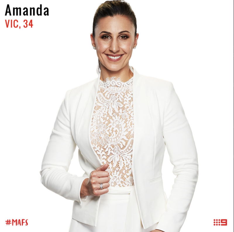 MAFS same sex couple bride Amanda
