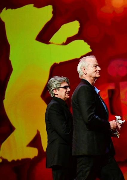 Bill Murray picked up Wes Anderson's prize